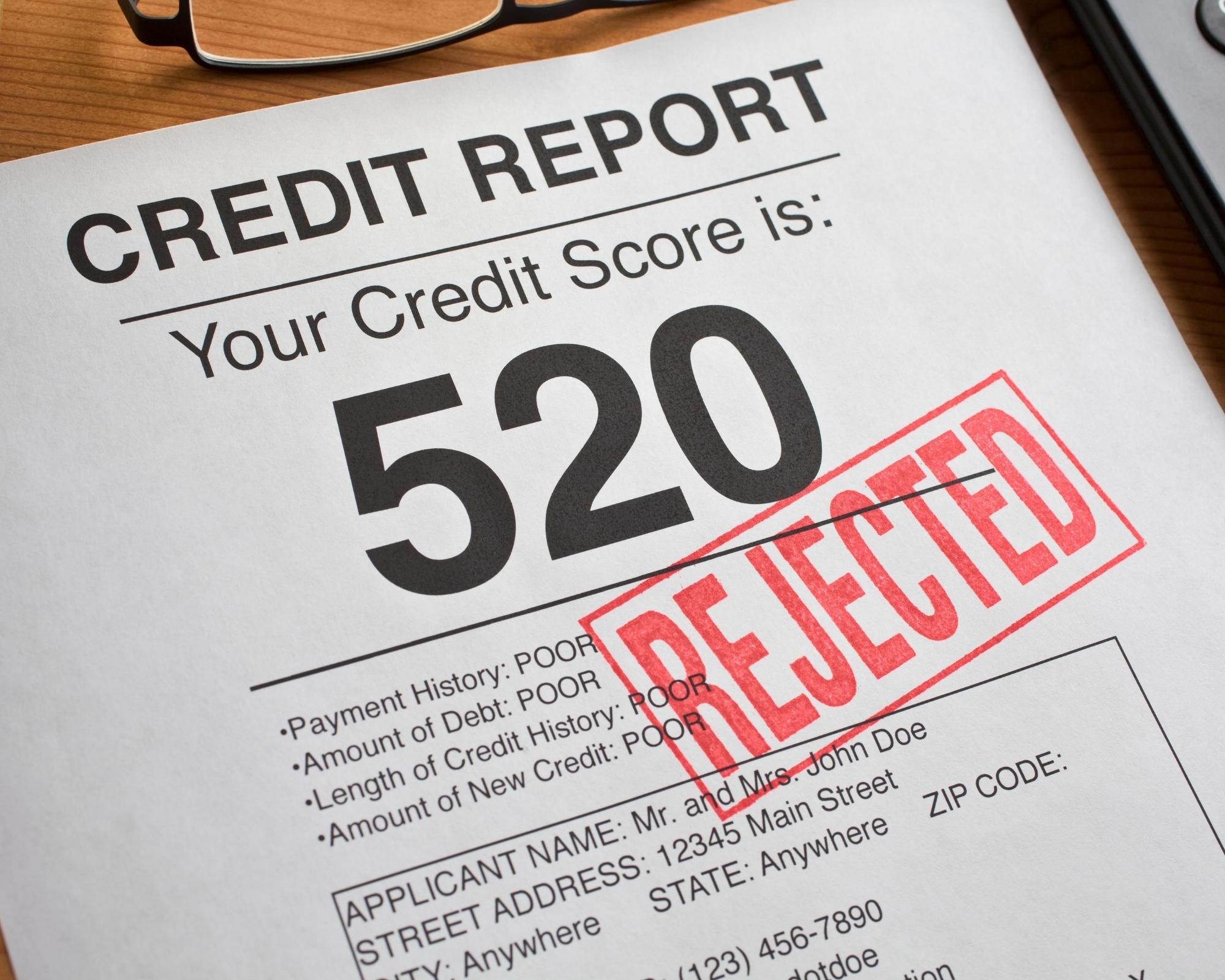 credit report score